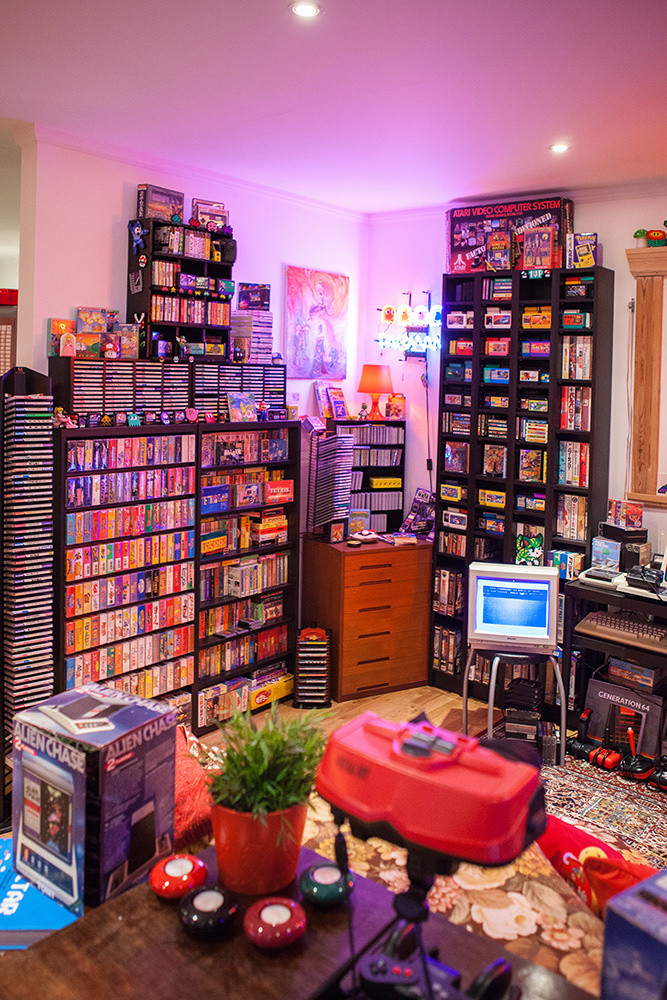 Best ideas about Game Room Trading Post . Save or Pin Heidi stopXwhispering's Retro Game Room Now.