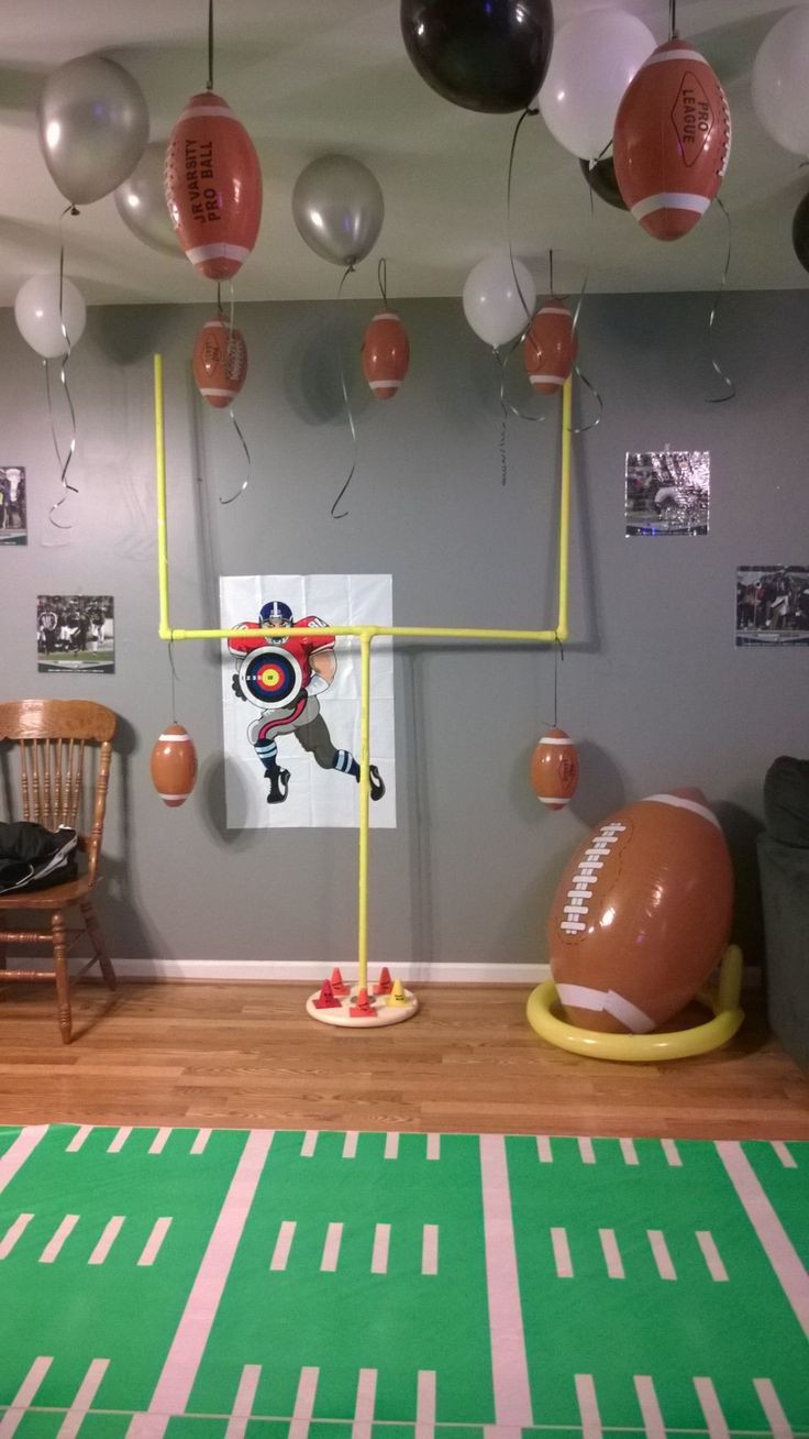 Best ideas about Game Room Trading Post . Save or Pin Giant inflatable football and tee from Oriental Trading Now.