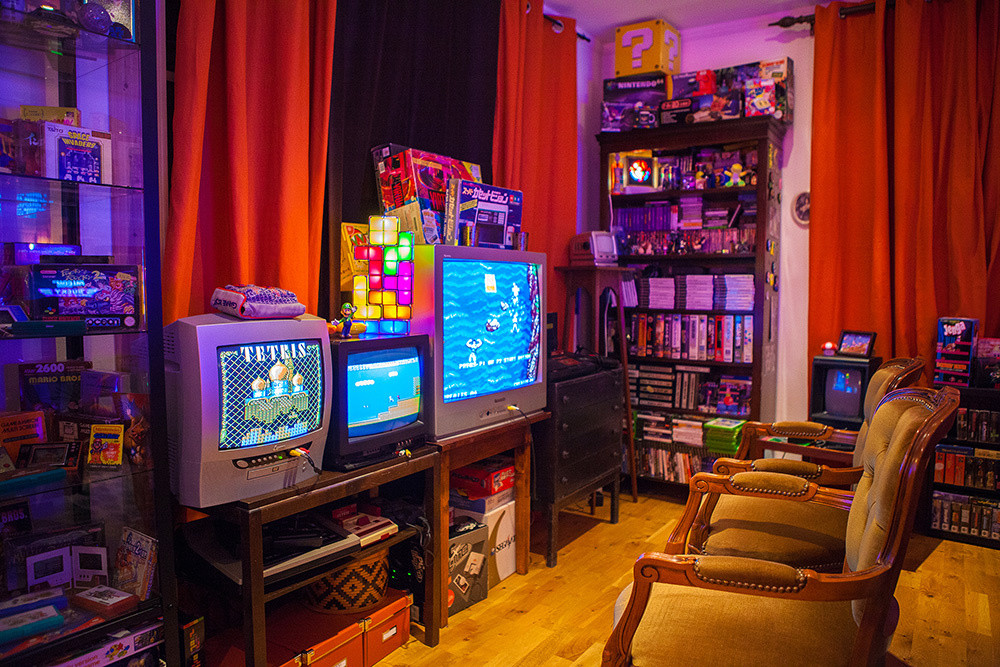 Best ideas about Game Room Trading Post . Save or Pin Heidi stopXwhispering's Retro Game Room setup Now.