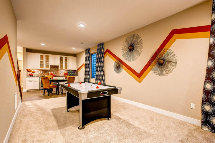 Best ideas about Game Room Wall Art . Save or Pin 20 Basement Game Room Designs Ideas Now.