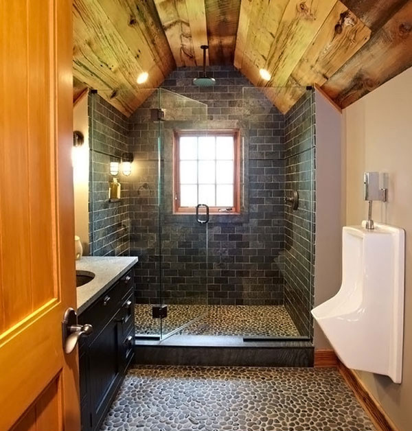 Best ideas about Garage Bathroom Ideas . Save or Pin 15 Bathroom Designs of Rustic Elegance Now.