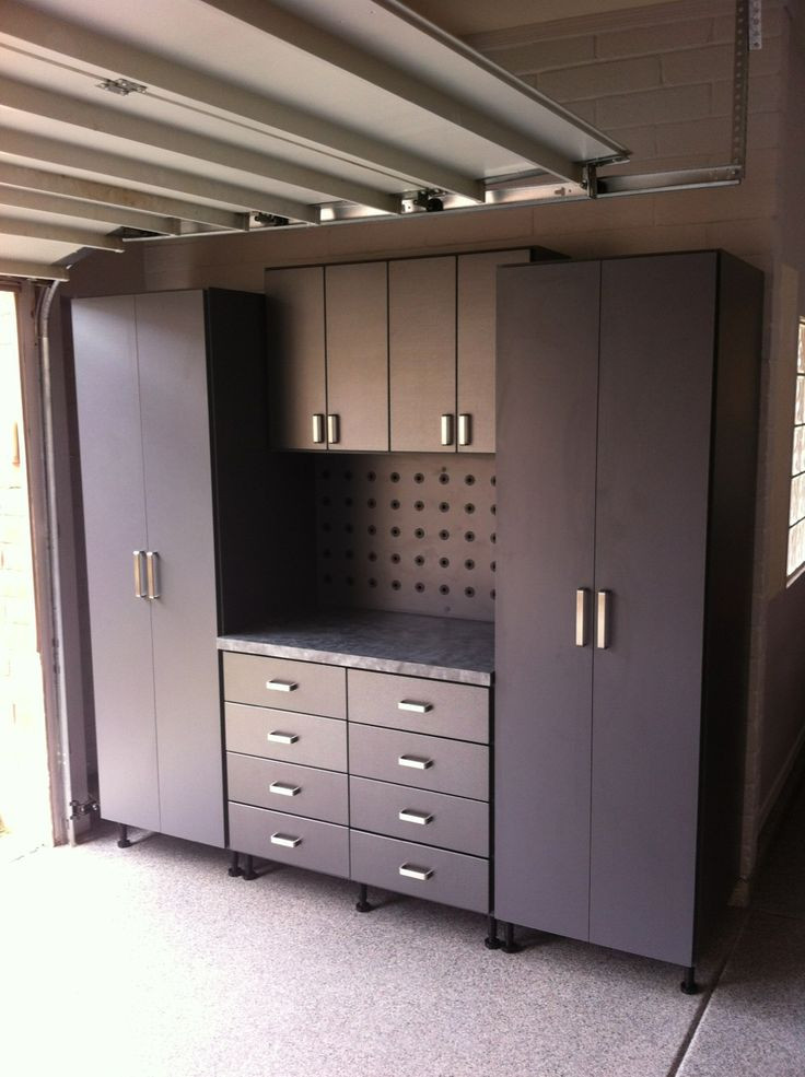 Best ideas about Garage Cabinets Ideas . Save or Pin garage … Garages Now.