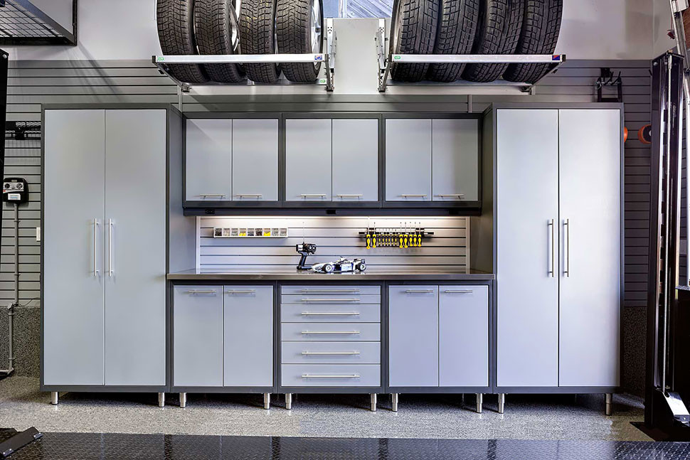 Best ideas about Garage Cabinets Ideas . Save or Pin 5 Smart Garage Cabinet Ideas That Make It Easy To Stay Now.