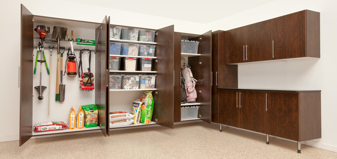 Best ideas about Garage Cabinets Ideas . Save or Pin Garage Cabinet Ideas Now.