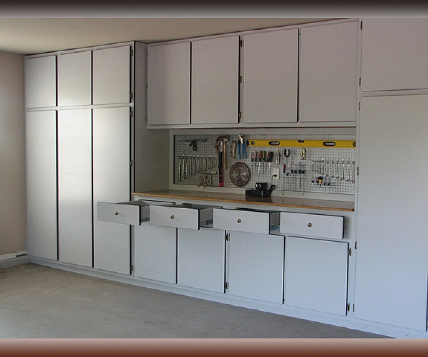 Best ideas about Garage Cabinets Ideas . Save or Pin Silver Color Garage Cabinets Cabinet Systems Designs Ideas Now.