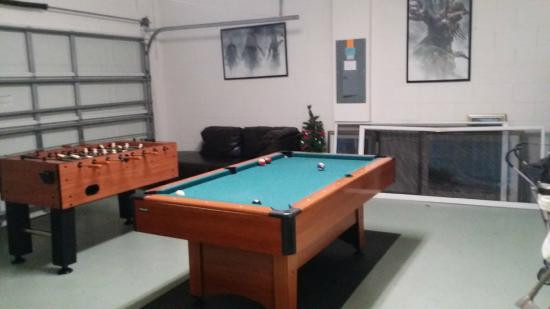 Best ideas about Garage Game Room . Save or Pin Garage game room Picture of IPG Florida Vacation Homes Now.