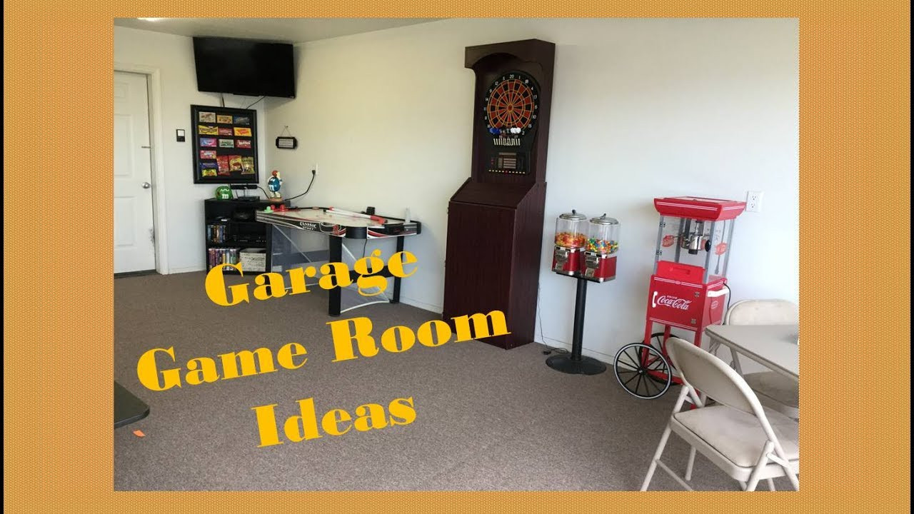 Best ideas about Garage Game Room . Save or Pin Garage Game Room Ideas Now.