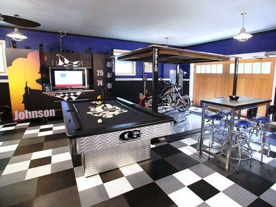 Best ideas about Garage Game Room . Save or Pin 10 The Most Fun Garage Game Room Ideas Now.