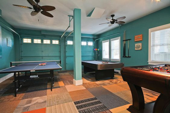 Best ideas about Garage Game Room . Save or Pin 16 Garage Conversion Ideas PICTURES Now.