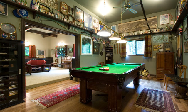 Best ideas about Garage Game Room . Save or Pin The game room portion of the pletely remodeled Now.