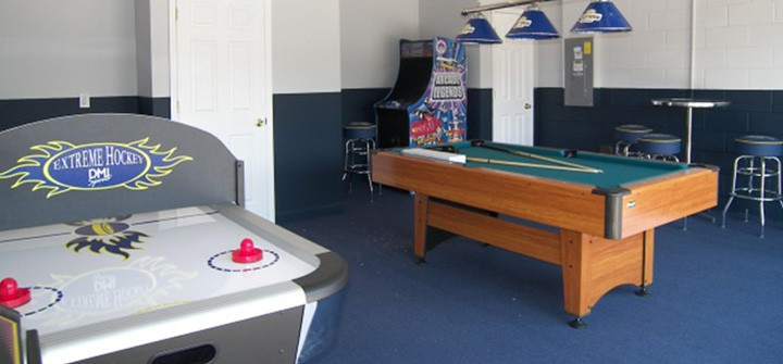 Best ideas about Garage Game Room . Save or Pin Garage Game Room Now.