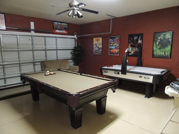Best ideas about Garage Game Room . Save or Pin Global Resort Homes Review Now.