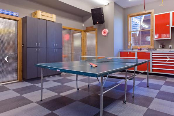 Best ideas about Garage Game Room . Save or Pin Be Inspired with Cool Garage Conversions Designer Mag Now.
