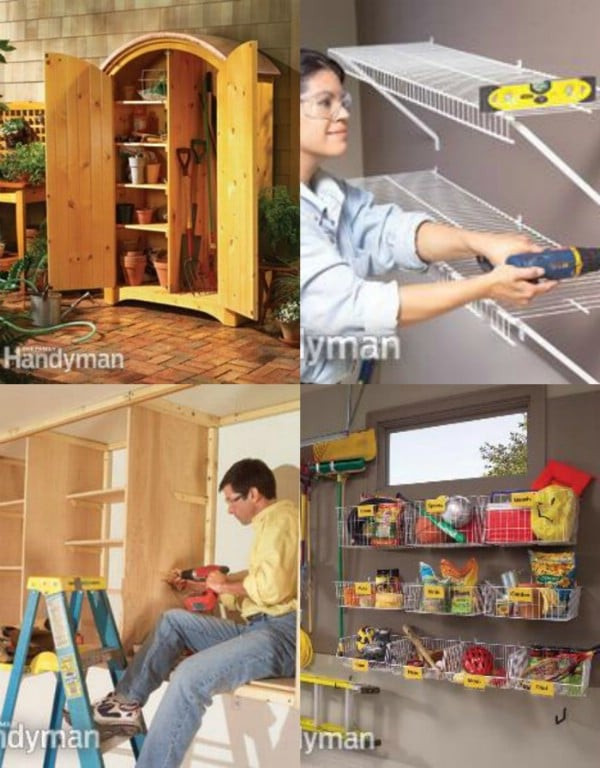 Best ideas about Garage Organization Ideas Diy . Save or Pin 49 Brilliant Garage Organization Tips Ideas and DIY Now.