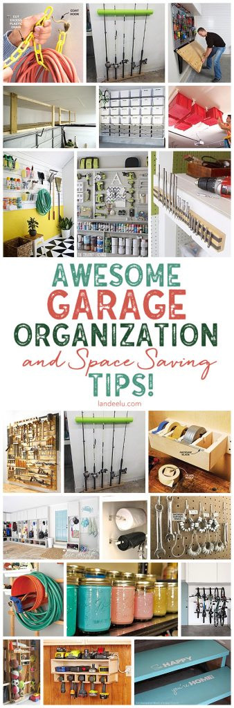 Best ideas about Garage Organization Ideas Diy . Save or Pin Awesome DIY Garage Organization Ideas landeelu Now.