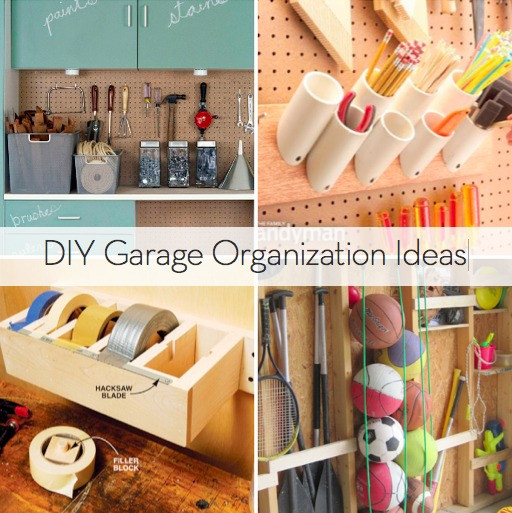 Best ideas about Garage Organization Ideas Diy . Save or Pin Roundup 10 DIY Garage Organization Ideas Now.