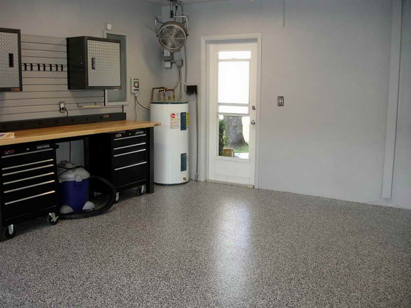 Best ideas about Garage Paint Colors Ideas . Save or Pin Applying Glidden Garage Floor Paint Now.
