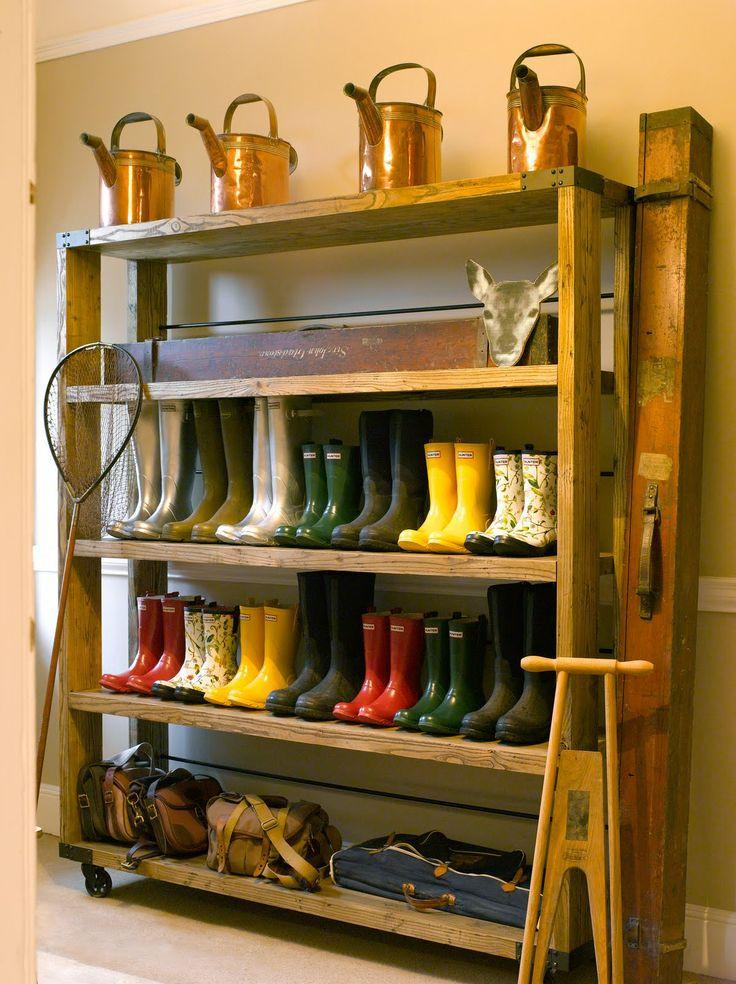 Best ideas about Garage Shoe Storage Ideas . Save or Pin 1000 ideas about Garage Shoe Shelves on Pinterest Now.