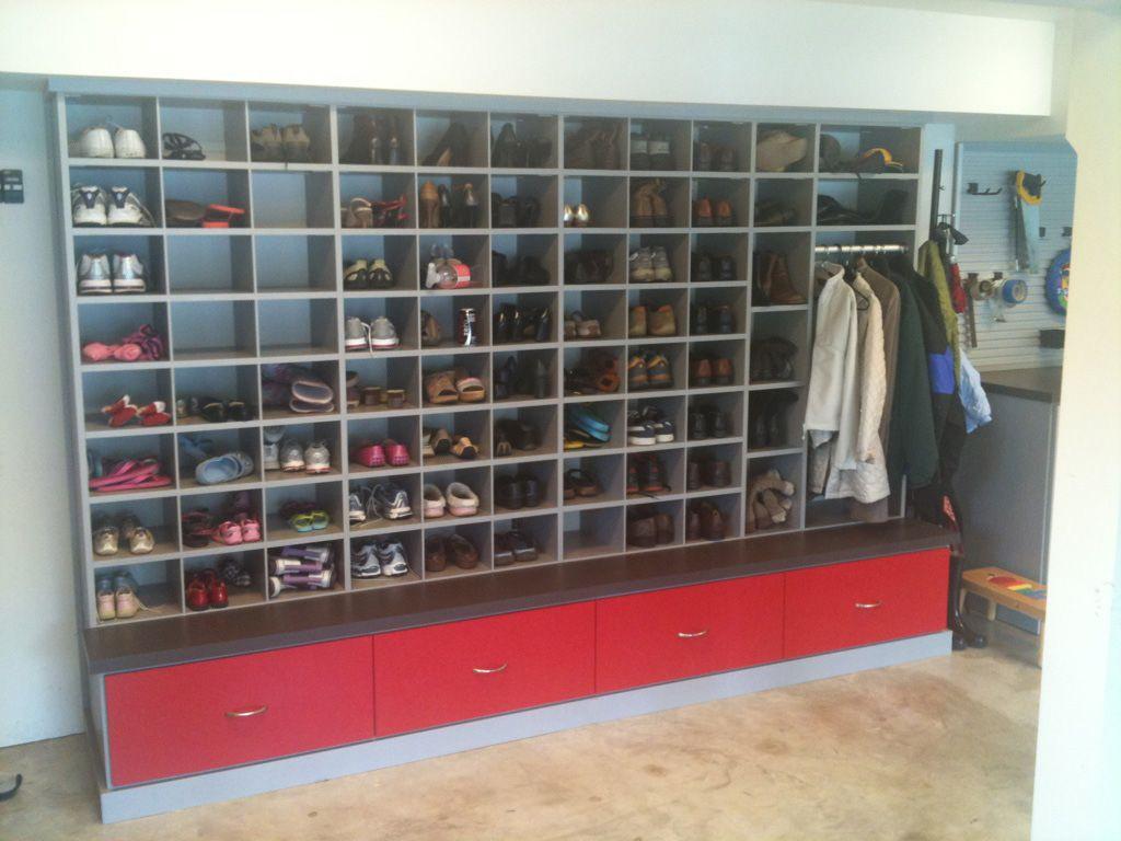 Best ideas about Garage Shoe Storage Ideas . Save or Pin Garage Shoe Storage on Pinterest Now.