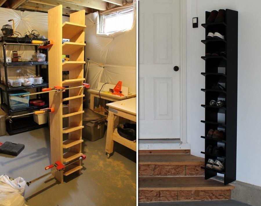 Best ideas about Garage Shoe Storage Ideas . Save or Pin DIY Garage Shoe Organizer Now.