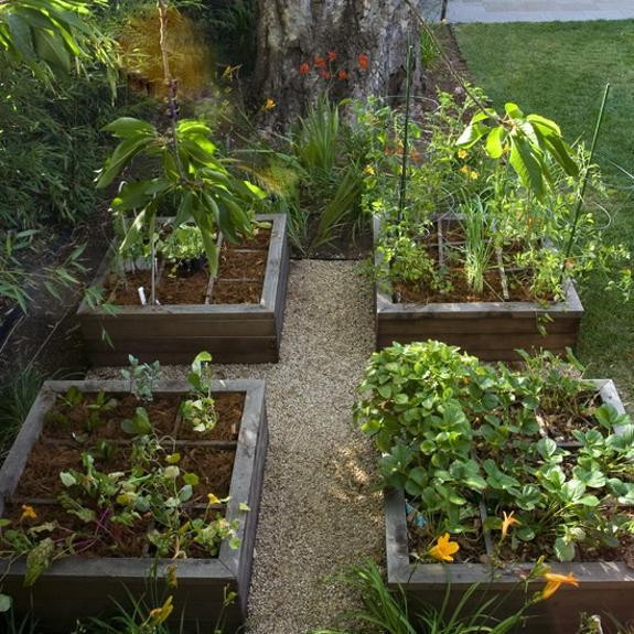 Best ideas about Garden Ideas Backyard . Save or Pin 20 Raised Bed Garden Designs and Beautiful Backyard Now.
