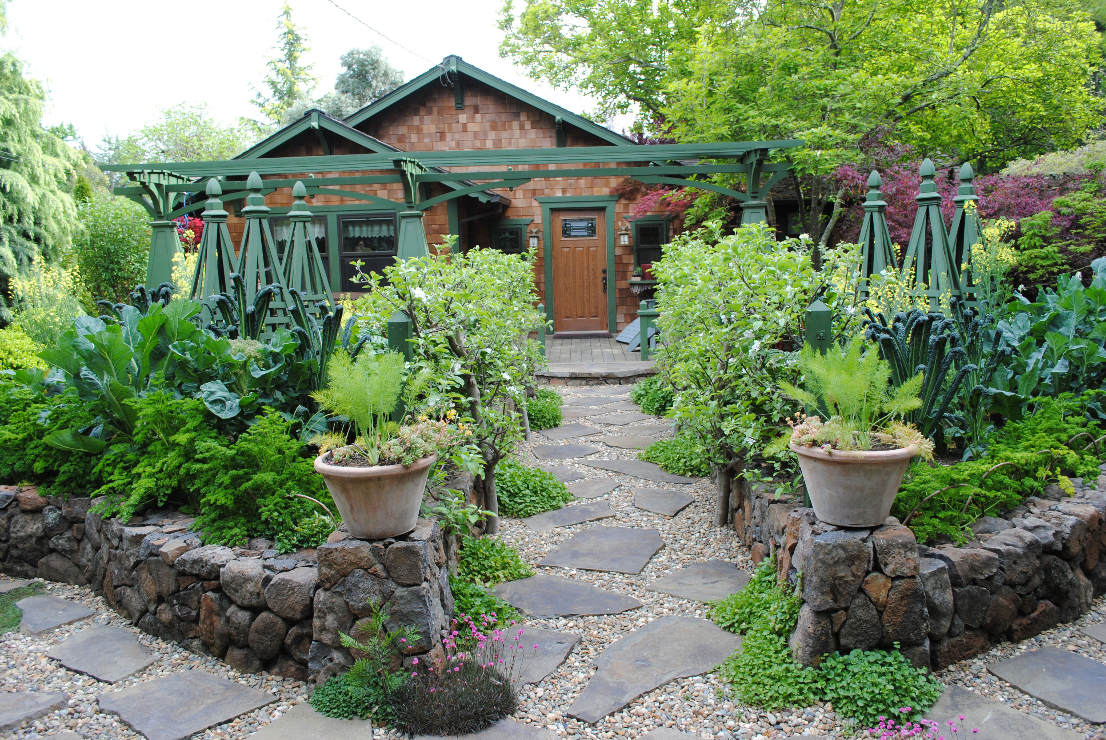 Best ideas about Garden Ideas Backyard . Save or Pin Edible Landscaping Ideas for Front Yard Sunset Sunset Now.