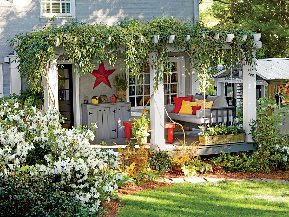 Best ideas about Garden Ideas Backyard . Save or Pin Landscaping Ideas Front Yard & Backyard Southern Living Now.
