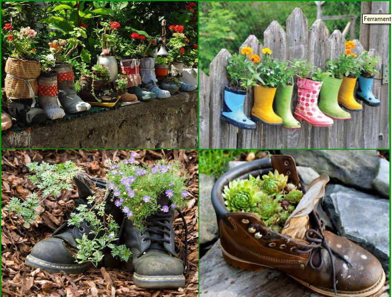 Best ideas about Garden Ideas Diy . Save or Pin DIY Garden Ideas Idees And Solutions Now.