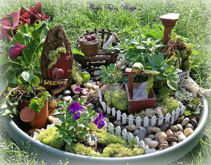 Best ideas about Garden Ideas Diy . Save or Pin Magical Fairy Garden Ideas You & Your Kids Will Love Now.
