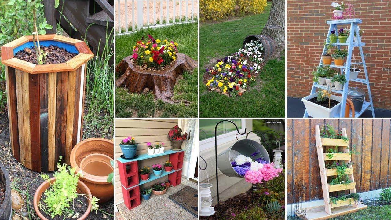 Best ideas about Garden Ideas Diy . Save or Pin 120 Cheap and Easy DIY Garden Ideas Now.