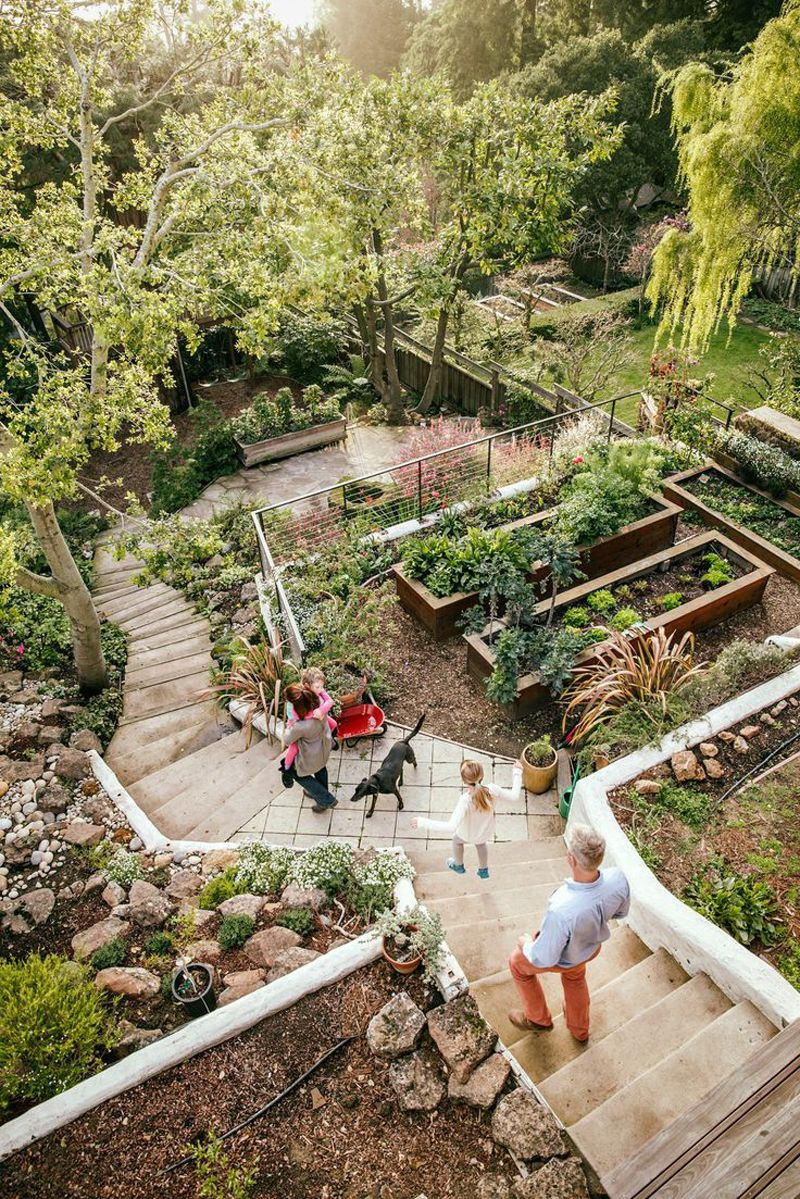 Best ideas about Garden Landscape Ideas . Save or Pin Amazing Ideas to Plan a Sloped Backyard That You Should Now.