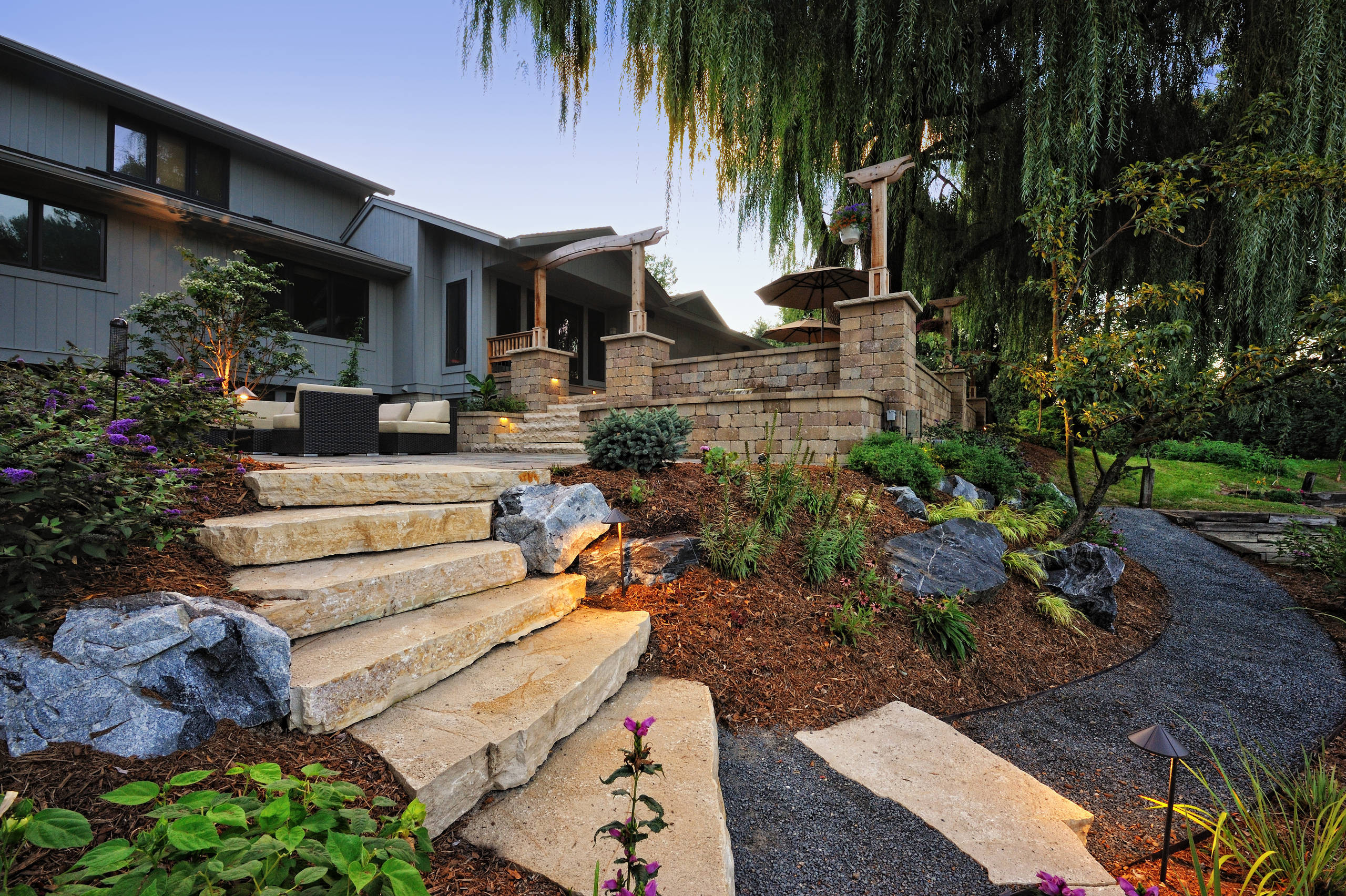 Best ideas about Garden Landscape Ideas . Save or Pin 15 Stunning Rustic Landscape Designs That Will Take Your Now.