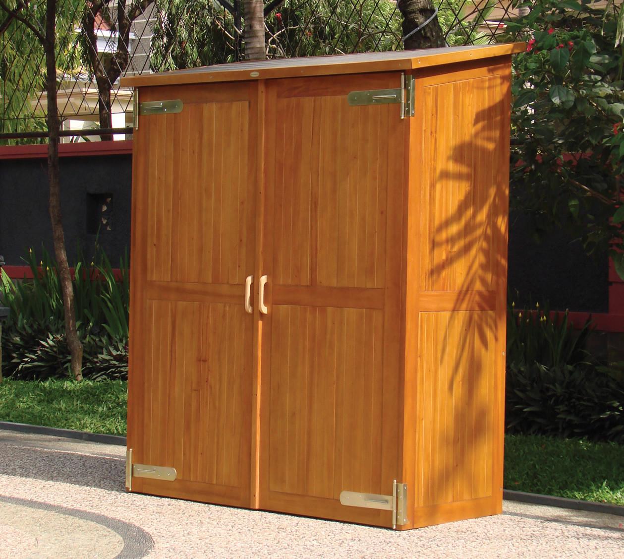Best ideas about Garden Storage Cabinet . Save or Pin Hardwood Garden Storage Cabinet Now.