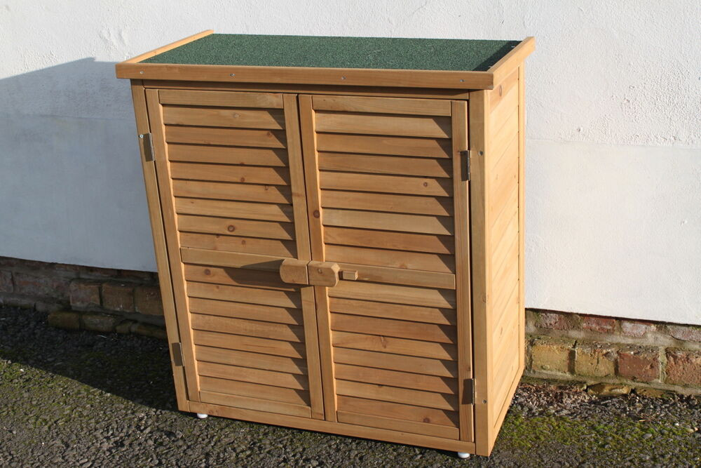 Best ideas about Garden Storage Cabinet . Save or Pin Outdoor Garden Wooden Storage Cabinet or Tool Shed In Now.