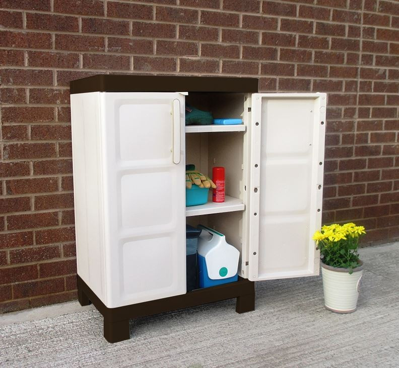 Best ideas about Garden Storage Cabinet . Save or Pin Outdoor Storage Cabinets Who Has The Best Now.