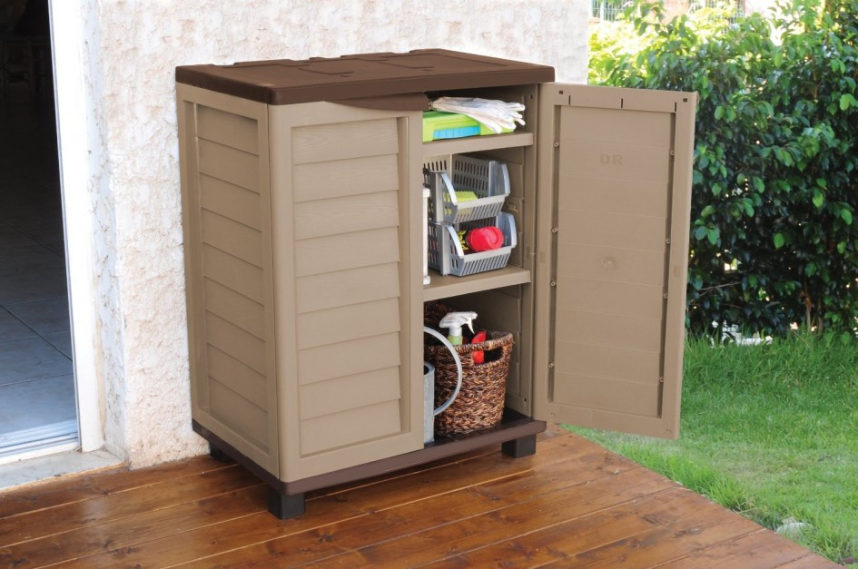Best ideas about Garden Storage Cabinet . Save or Pin outdoor shoe closet – Home Decor Now.