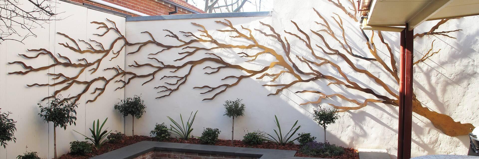 Best ideas about Garden Wall Art . Save or Pin 32 Best Ideas of Metal Gate Wall Art Now.