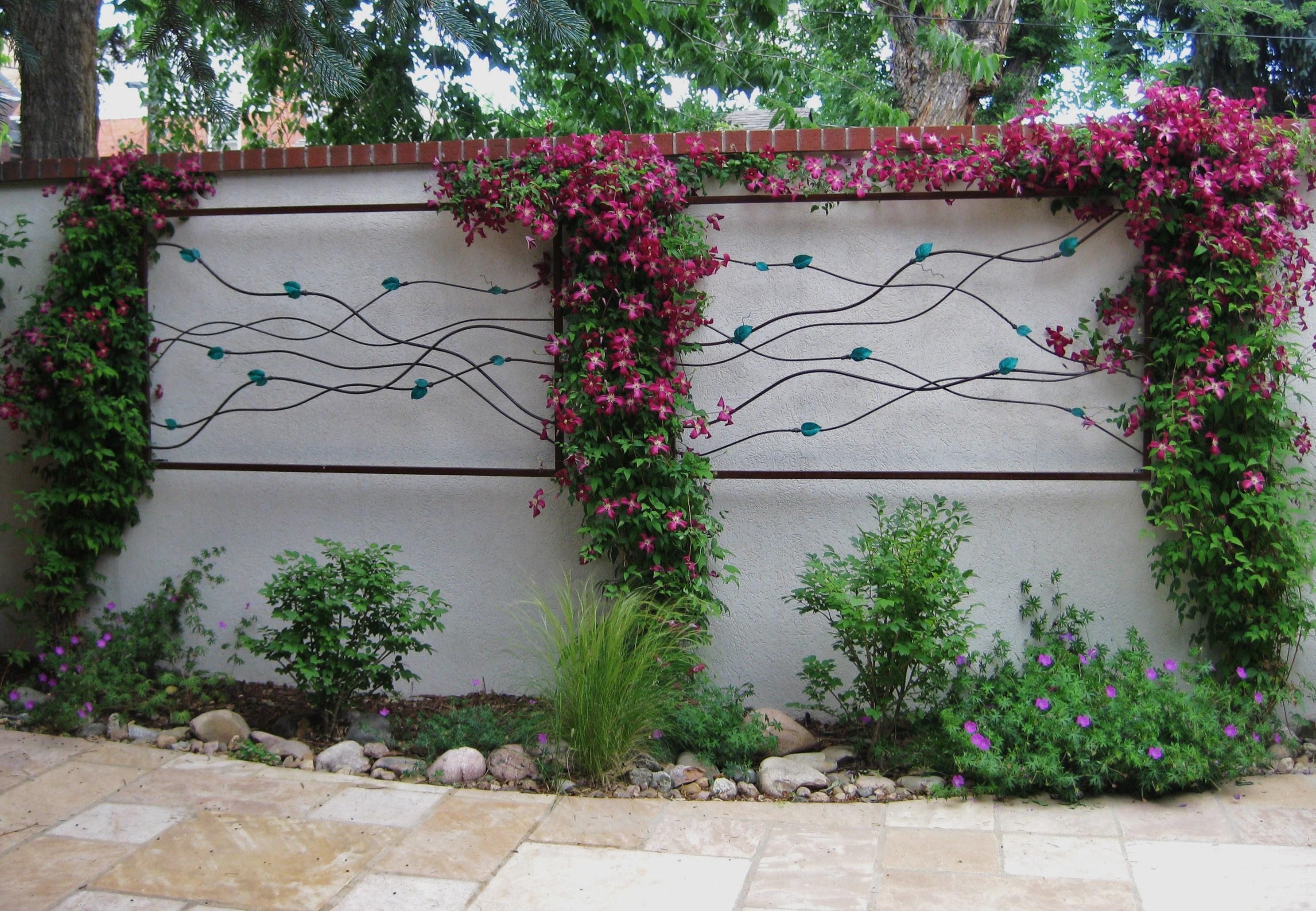 Best ideas about Garden Wall Art . Save or Pin 20 Ideas of Diy Garden Wall Art Now.