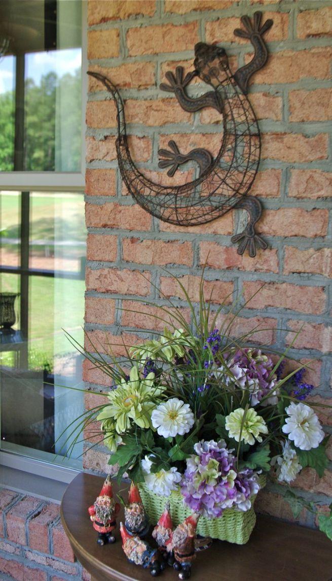 Best ideas about Garden Wall Art . Save or Pin Outdoor Garden Wall Decor Outdoor Garden Wall Decor Art Now.