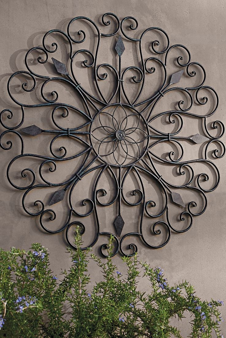 Best ideas about Garden Wall Art . Save or Pin 25 best ideas about Outdoor wall art on Pinterest Now.