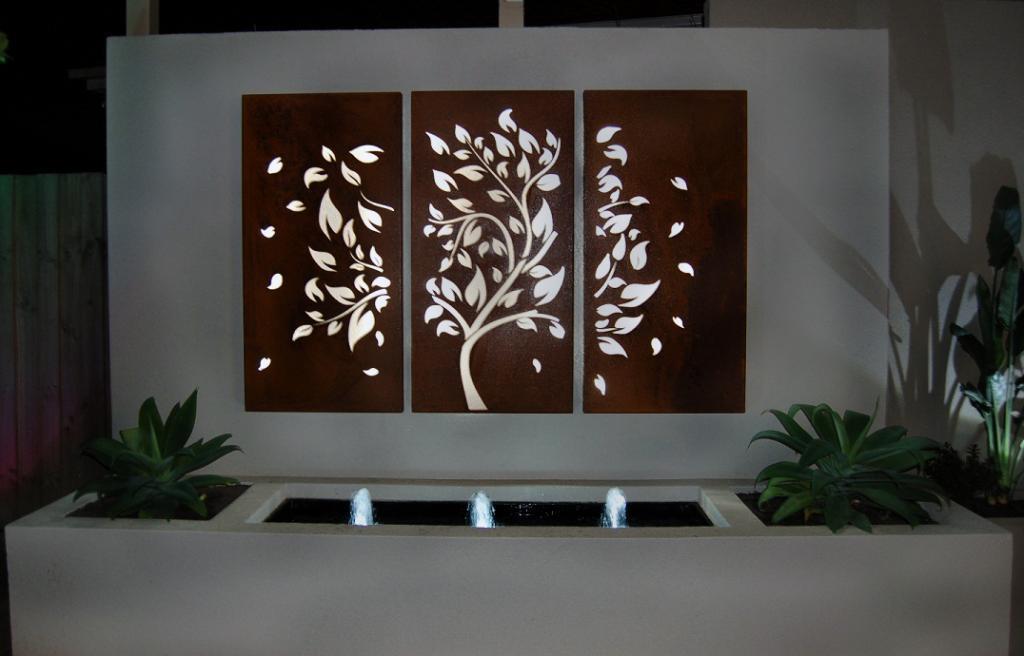Best ideas about Garden Wall Art . Save or Pin Outdoor Garden Wall Art Now.