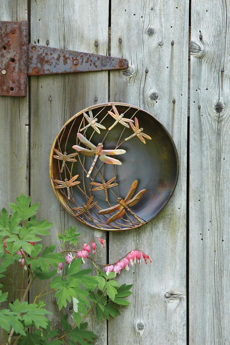 Best ideas about Garden Wall Artwork . Save or Pin 3D Wall Art Metal Dragonfly Wall Art Outdoor Metal Wall Art Now.