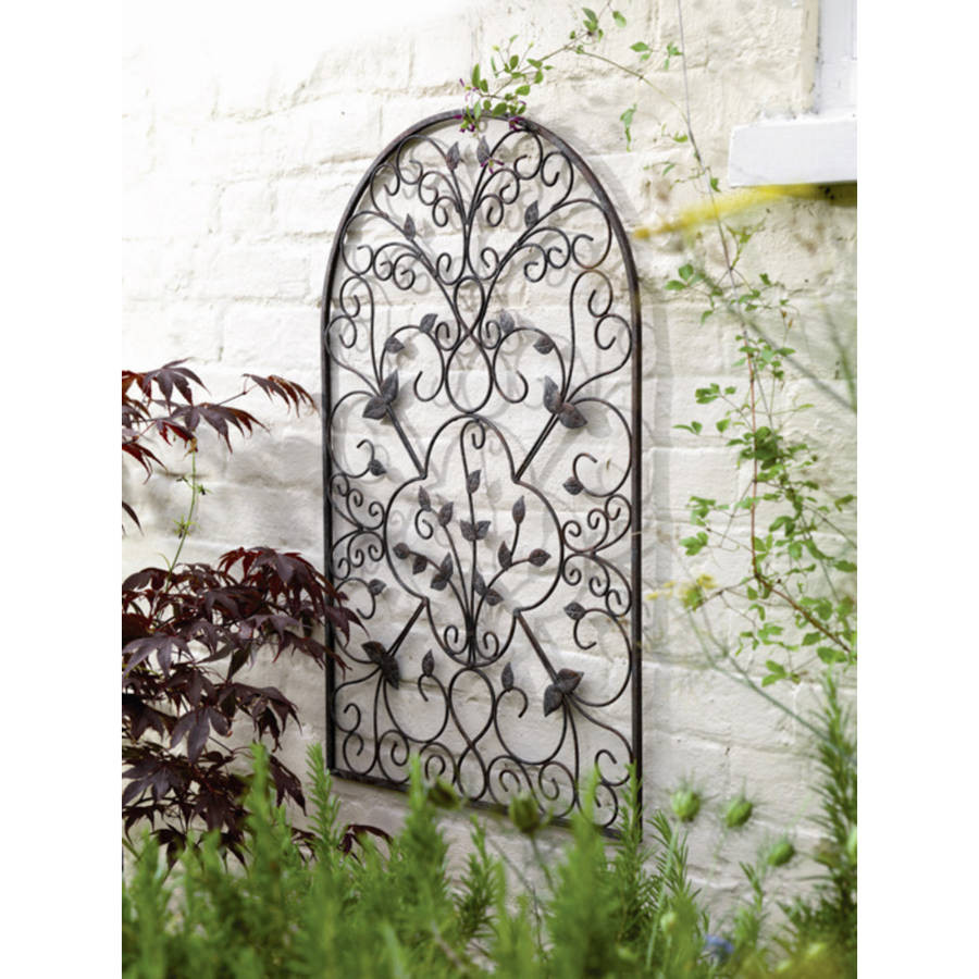 Best ideas about Garden Wall Artwork . Save or Pin spanish metal arch wall art sculpture by garden selections Now.
