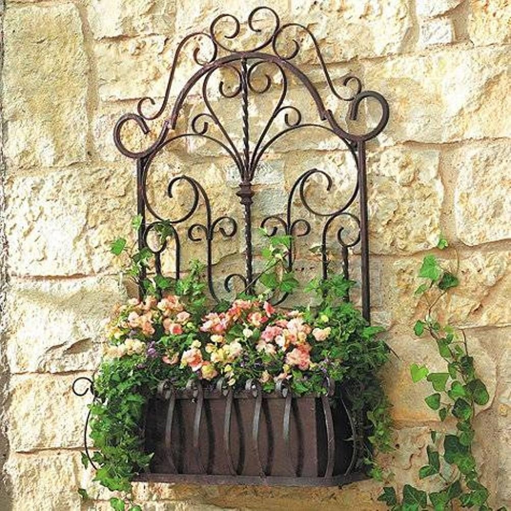 Best ideas about Garden Wall Artwork . Save or Pin 20 Collection of Wrought Iron Garden Wall Art Now.
