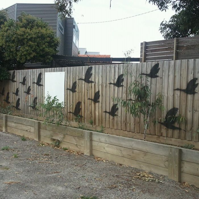 Best ideas about Garden Wall Artwork . Save or Pin 55 People Who Took Their Backyard Fences To Another Level Now.