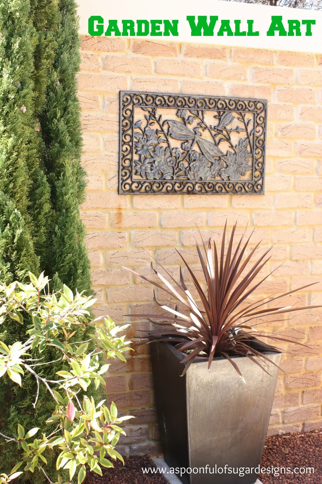 Best ideas about Garden Wall Artwork . Save or Pin Garden Wall Art A Spoonful of Sugar Now.