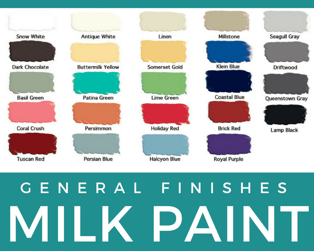 Best ideas about General Finishes Milk Paint Colors . Save or Pin General Finishes Milk Paint Pints and Quarts Now.