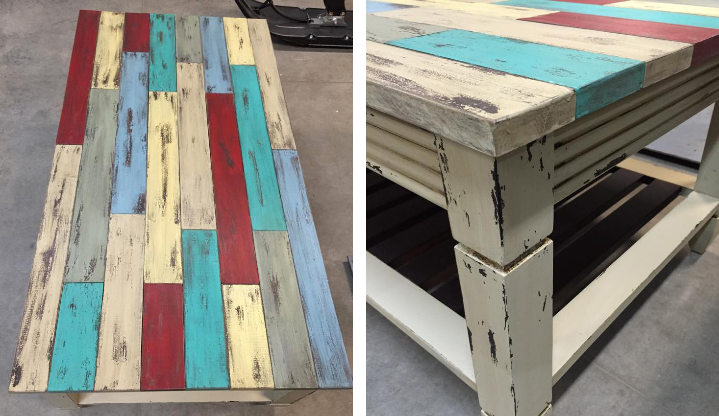 Best ideas about General Finishes Milk Paint Colors . Save or Pin Table in Many Milk Paint Colors Distressed Now.