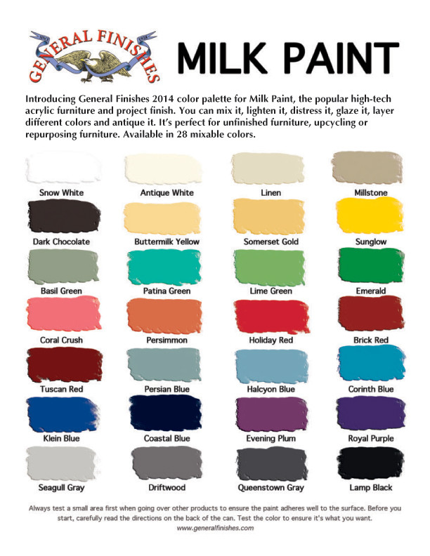 Best ideas about General Finishes Milk Paint Colors . Save or Pin General Finishes Milk Paint What and How Now.