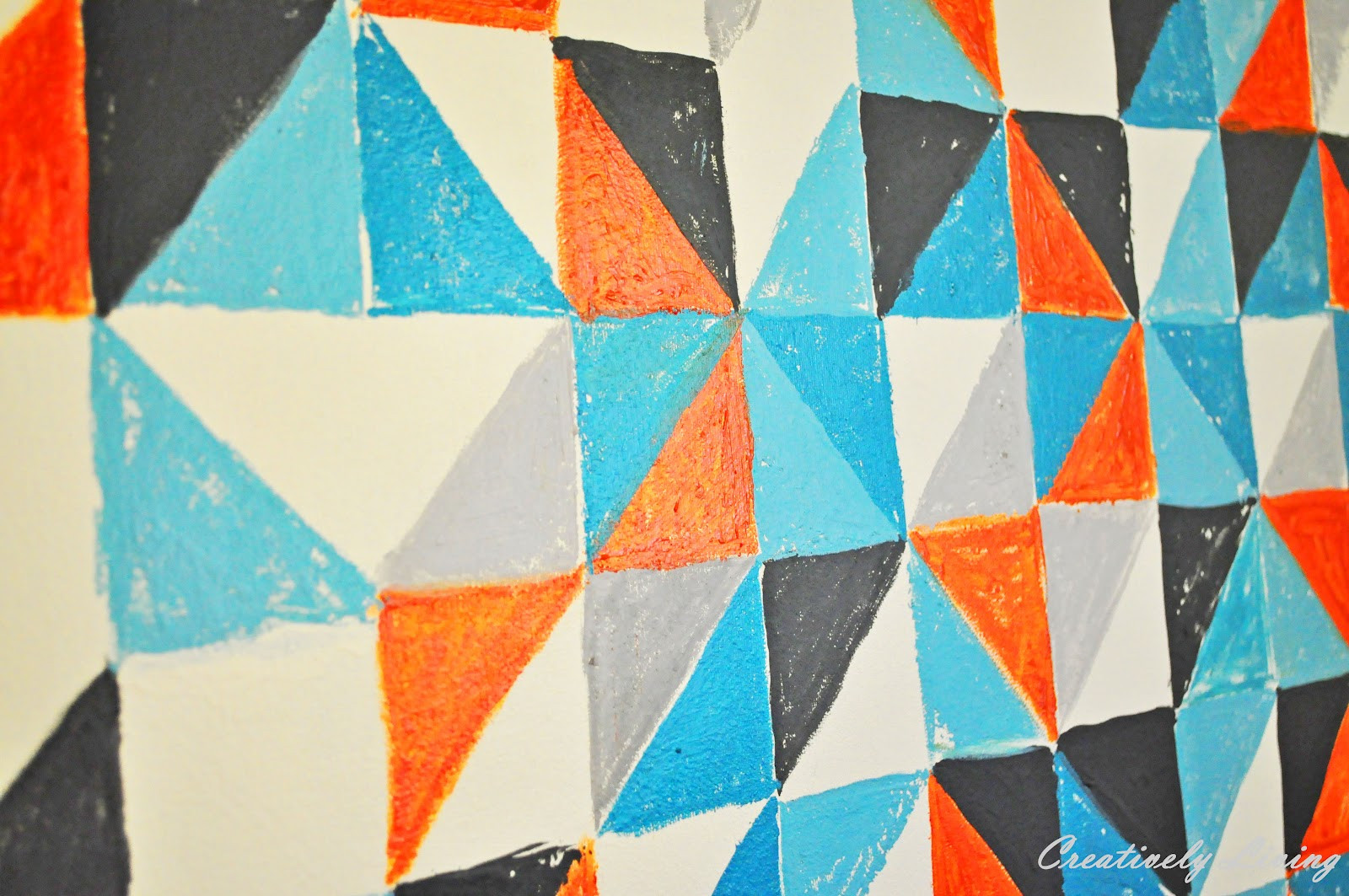 Best ideas about Geometric Wall Art . Save or Pin Baby B Makes 3 DIY Geometric Wall Art Nursery Project Now.